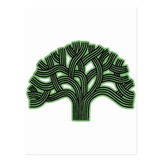 Oakland Tree Green Haze Postcard