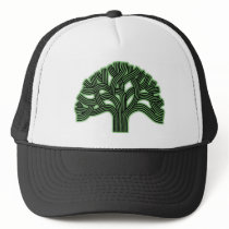 Oakland Tree Green Haze Trucker Hat