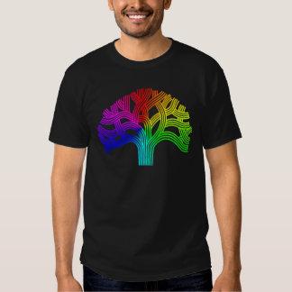 Oakland Tree Rainbow Tee Shirts
