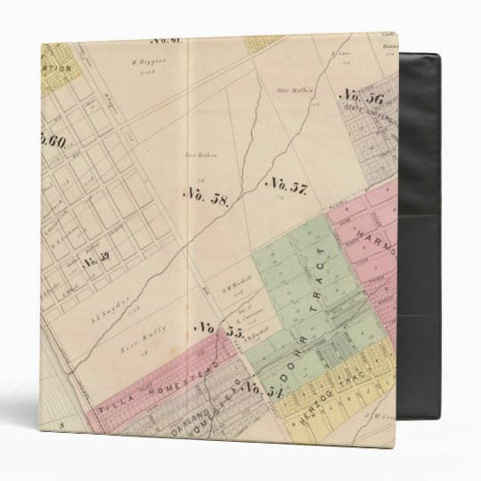 Oakland, vicinity 14 binder