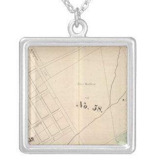 Oakland, vicinity 14 square pendant necklace