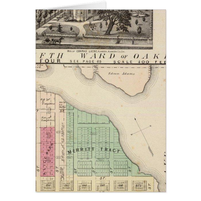 Oakland, vicinity 4 card