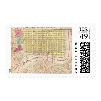 Oakland, vicinity 5 postage
