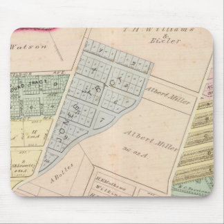 Oakland, vicinity 7 mouse pad