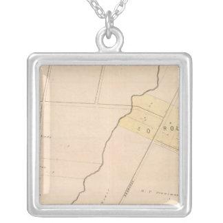 Oakland, vicinity 9 square pendant necklace