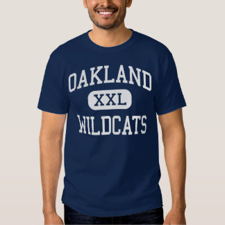 Oakland - Wildcats - High - Oakland California T-shirt