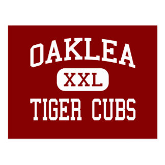 Oaklea - Tiger Cubs - Middle - Junction City Post Cards