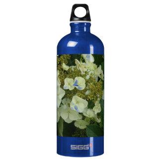 Oakleaf Hydrangea - Olympia Farmer's Market Garden Aluminum Water Bottle