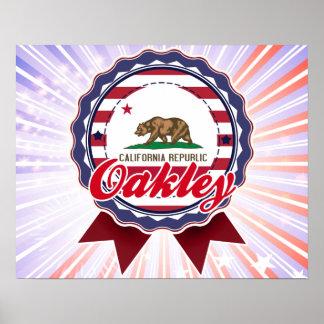 Oakley CA Posters