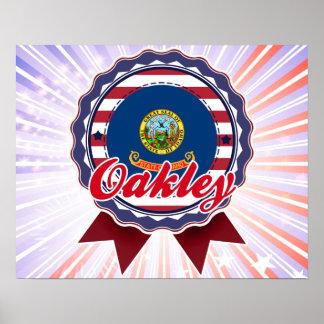 Oakley identificación impresiones