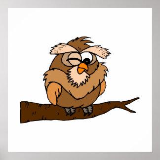 Oakley Owl Print