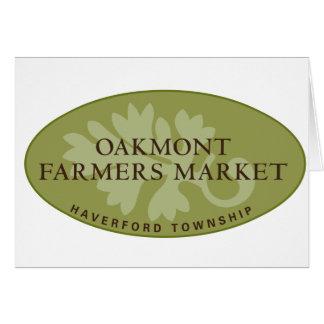 Oakmont Farmers Market Logo Card