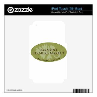 Oakmont Farmers Market Logo iPod Touch 4G Skins