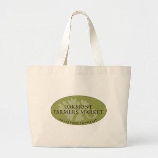 Oakmont Farmers Market Logo Large Tote Bag