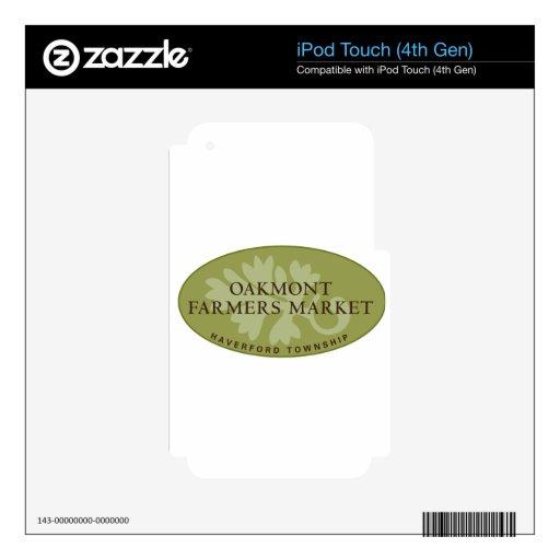 Oakmont Farmers Market Logo Skin For iPod Touch 4G