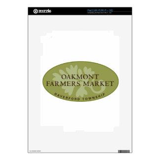 Oakmont Farmers Market Logo Skins For iPad 2