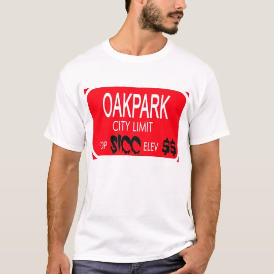 OAKPARK (red) -- T-Shirts