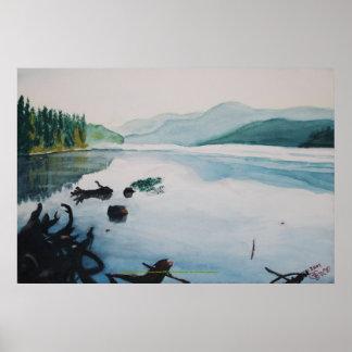 Oakridge Reservoir #2, Print