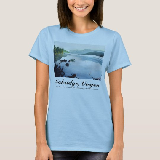Oakridge Reservoir #2 T-Shirt