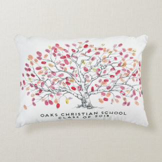 Oaks Christian School Class of 2018 Colored Pillow