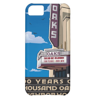 Oaks Theater on Solano Avenue in Berkeley, CA Cover For iPhone 5C