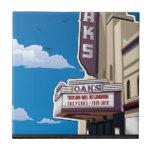 Oaks Theater on Solano Avenue in Berkeley, CA Ceramic Tile