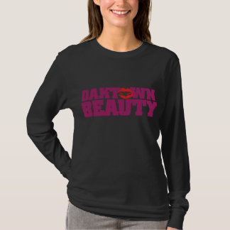 Oaktown Beauty Purple T-Shirt