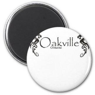 Oakville Imán Redondo 5 Cm
