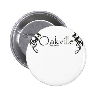 Oakville Pin Redondo De 2 Pulgadas