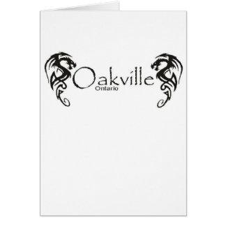 Oakville Tarjeta De Felicitación