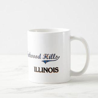 Oakwood Hills Illinois City Classic Classic White Coffee Mug