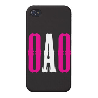 """""""OAO"""" CASE FOR iPhone 4"""