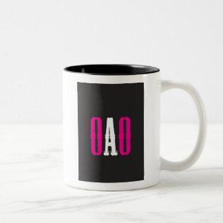 """OAO"" Two-Tone COFFEE MUG"