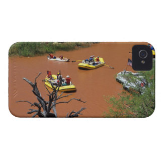 Oar powered rafts turn into the Colorado River Case-Mate iPhone 4 Cases
