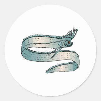 Oarfish Classic Round Sticker