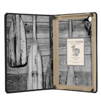 Oars are hung on wooden shed in Big Cypress, 2 iPad Mini Cover