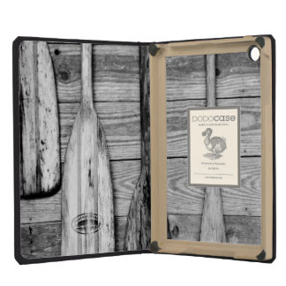 Oars are hung on wooden shed in Big Cypress, 2 iPad Mini Covers