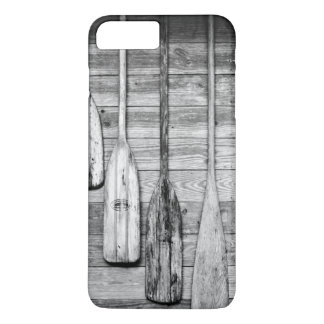 Oars are hung on wooden shed in Big Cypress, 2 iPhone 8 Plus/7 Plus Case