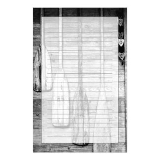 Oars are hung on wooden shed in Big Cypress, 2 Stationery