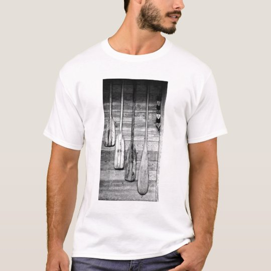 Oars are hung on wooden shed in Big Cypress, 2 T-Shirt