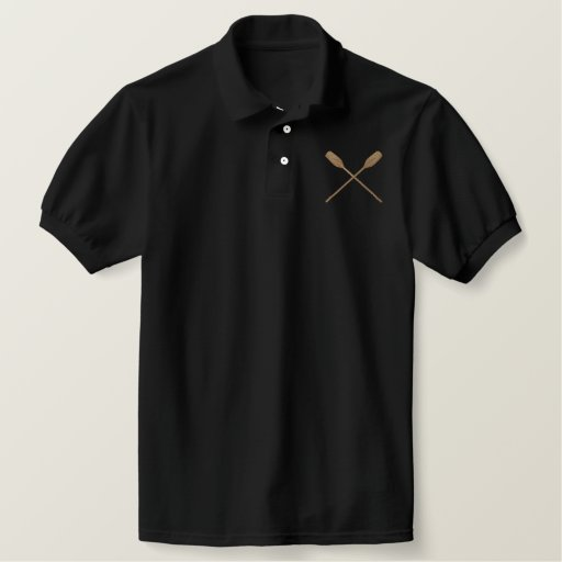Oars Embroidered Polo Shirt