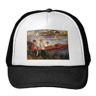 Oarsman of Chatou by Pierre Renoir Trucker Hat