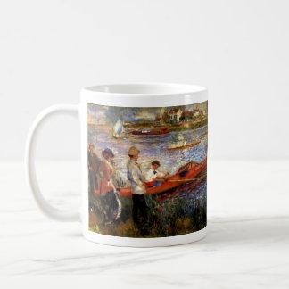 Oarsman of Chatou by Pierre Renoir Classic White Coffee Mug