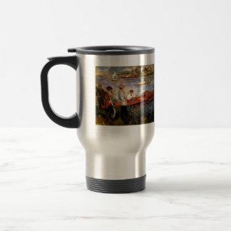Oarsman of Chatou by Pierre Renoir 15 Oz Stainless Steel Travel Mug