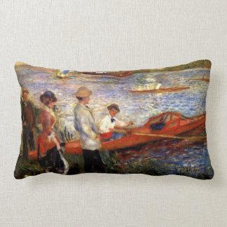 Oarsman of Chatou by Pierre Renoir Pillows