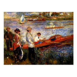 Oarsman of Chatou by Pierre Renoir Postcard