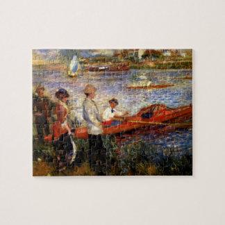 Oarsman of Chatou by Pierre Renoir Jigsaw Puzzles