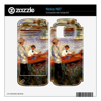 Oarsman of Chatou by Pierre Renoir Decals For Nokia N97