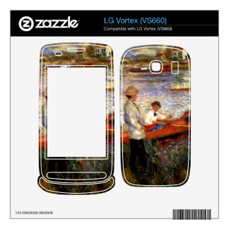 Oarsman of Chatou by Pierre Renoir Decals For The LG Vortex