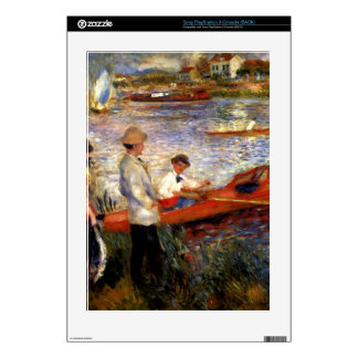 Oarsman of Chatou by Pierre Renoir Decal For PS3